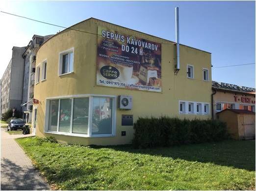 budova caffeeservis prievidza